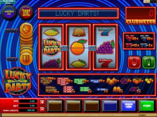Сыграйте в Дартс в онлайн казино с новым игровым автоматом Lucky