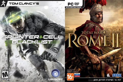 Предзаказ Splinter Cell: Blacklist и Total War: Rome II