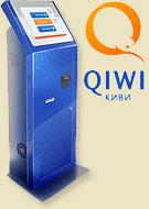 Оплата с помощью терминалов QIWI
